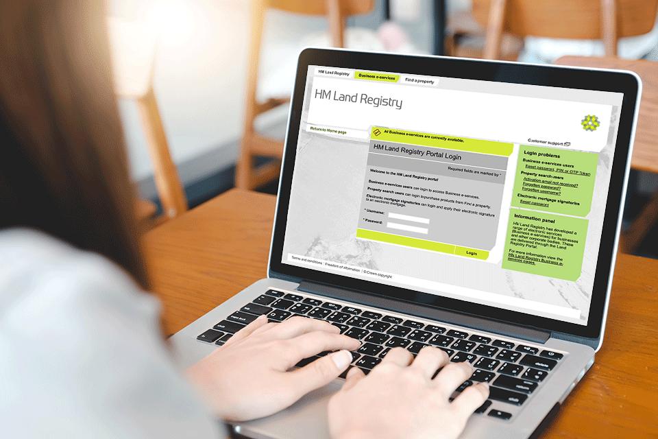 Online HM Land Registry Portal