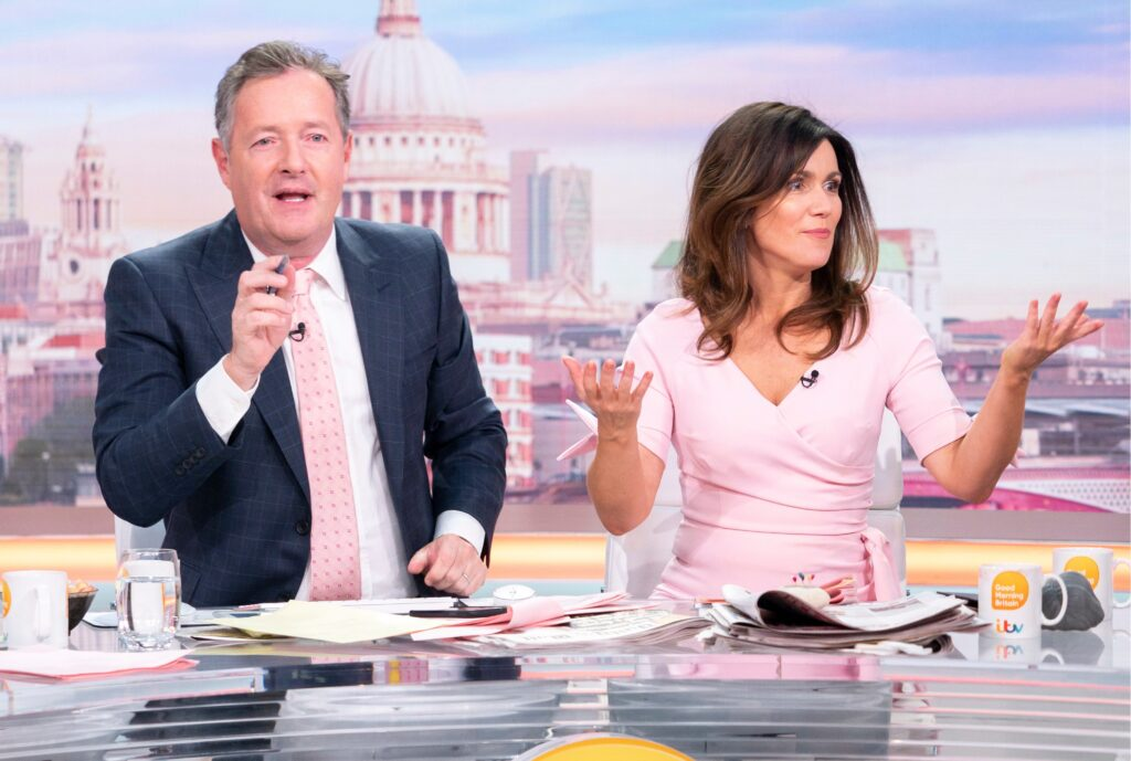 Piers Morgan in Good Morning Britain