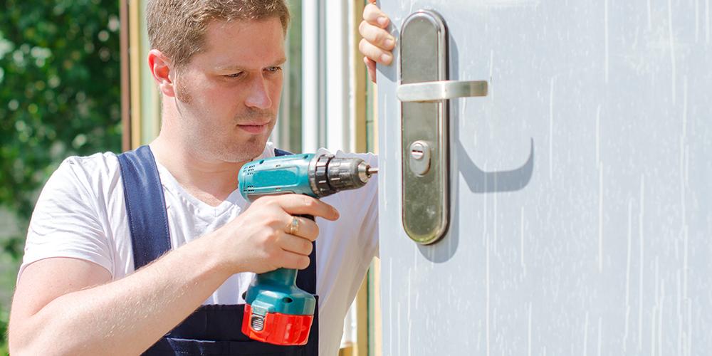 drilling a lock